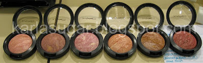 MAC, Colour Craft, Color Craft, Mineralize, blush, Hand-finish, Fad-dabulous, Daft Pink, Improvise, Cheek &amp; Cheerful, Style Demon