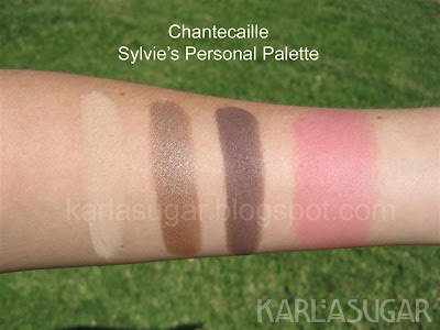 Chantecaille, Sylvie, Personal Palette, swatches