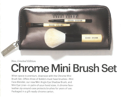 Bobbi Brown, holiday, Chrome, brush set