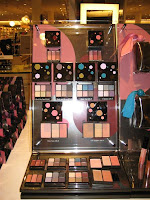 MAC, Magic, Mirth, Mischief, display, palettes