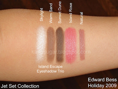 Edward Bess, Jet Set, Island Escape Trio, Skylight, Warm Sand, Sunset Dune, Island Rose, Natural