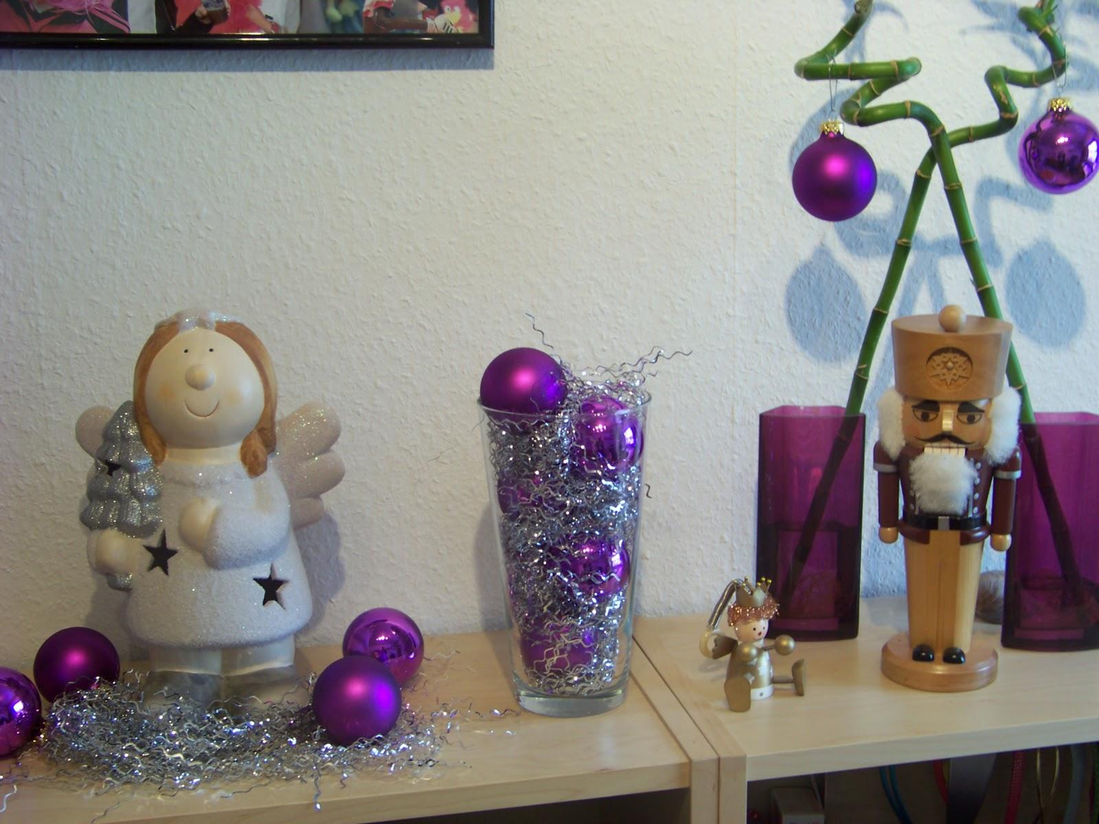 Eska kreativ weihnachtsdeko teil 1 - Weihnachtsdeko lila ...