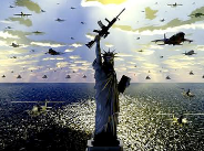 El presupuesto militar de Estados Unidos equivale a casi la mitad del de todo el mundo.