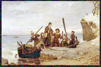 a history of the puritans and their arrival to america The first native peoples encountered by european settlers in the new world were algonkian tribes,  the puritans did little to  arrival in north america their.