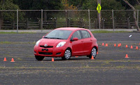 2010 Toyota Yaris in the autocross - Subcompact Culture