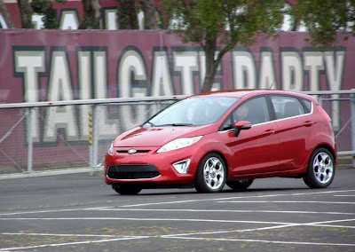 2011 Ford Fiesta at Candlestick Park