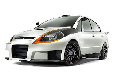 Suzuki SXForce Concept - Subcompact Culture