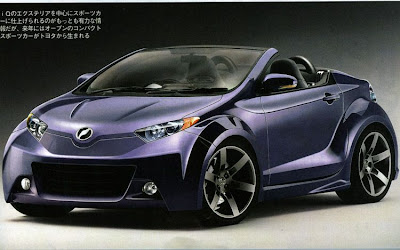 Scion iQ Convertible