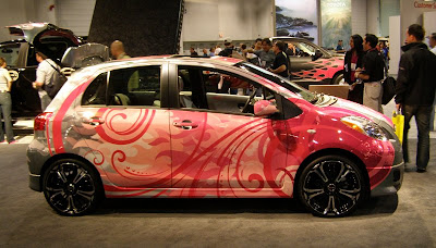 Hard Kandy Toyota Yaris - Subcompact Culture