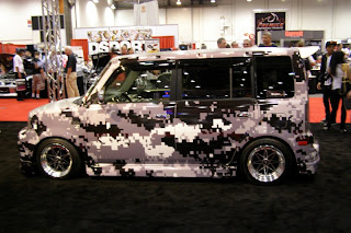 Camo Scion xB - Subcompact Culture