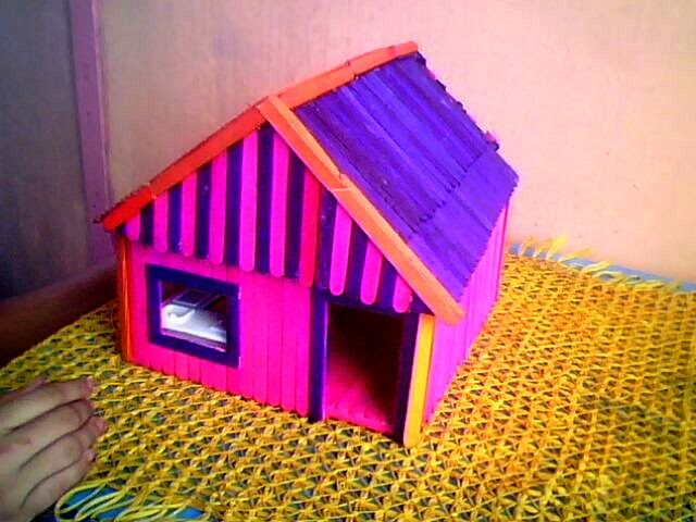 Our Little Corners Popsicle Stick Doll House