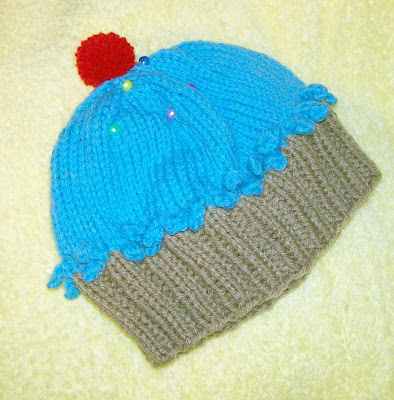 This little teal hat turned out cute.