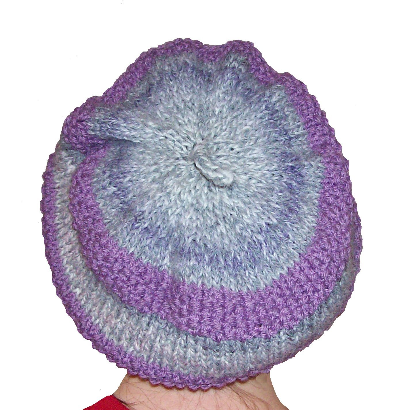Knitting Patterns For Cute Hats : Karen Bee Knitting: New Pattern! Cute and Slouchy Hat