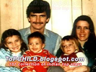 Katrina kaif with her father mother and sisters