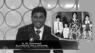 Childhood and Family  pictures of A.R.Rahman, Indian  music Director
