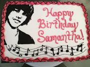 Justin Bieber Birthday supplies are prevalent at Birthday Express. . (normal )
