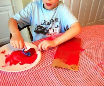 Tucker's Apple Dandy Day go along craft