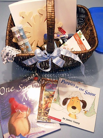 Snow preschool theme, advent activities