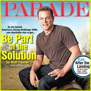 Que Ajuda Necessitados Na Frica Matt Damon Est Capa Da
