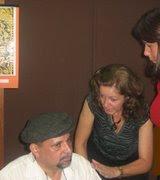Silas, e Musa Rosangela, Lançamento do Livro Campo de Trigo Com Corvos