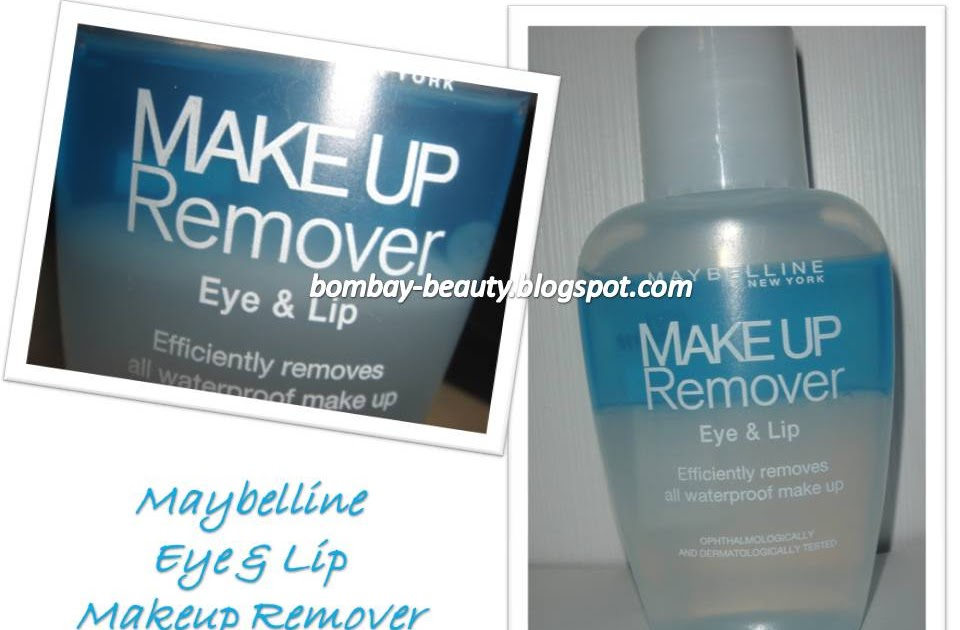 Bombay Beauty Some Fun Maybelline Eye Lip Makeup Remover Review