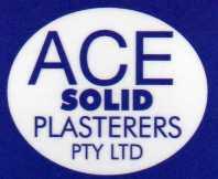 Sponsor - Ace Solid Plasterers