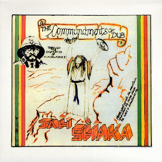 Cover Album of Jah Shaka - Commandments of Dub 1