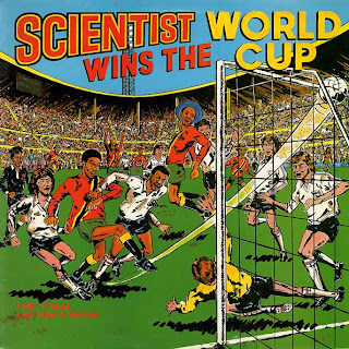 Cover Album of Scientist - Scientist Wins The World Cup