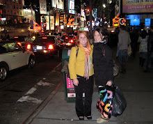 Katie and I in Times Square