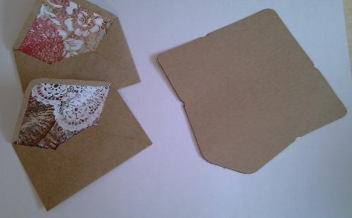 Cukimuki transforma un cl sico sobre en un elegante sobre - Como decorar un sobre ...