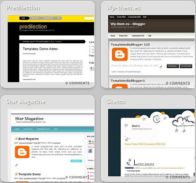 capella blogger templates