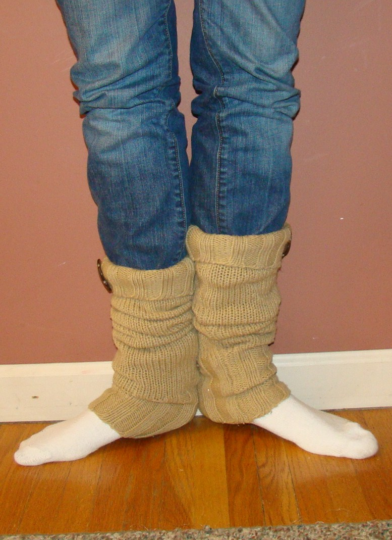 fireflies and jellybeans  how to make leg warmers from an old sweater