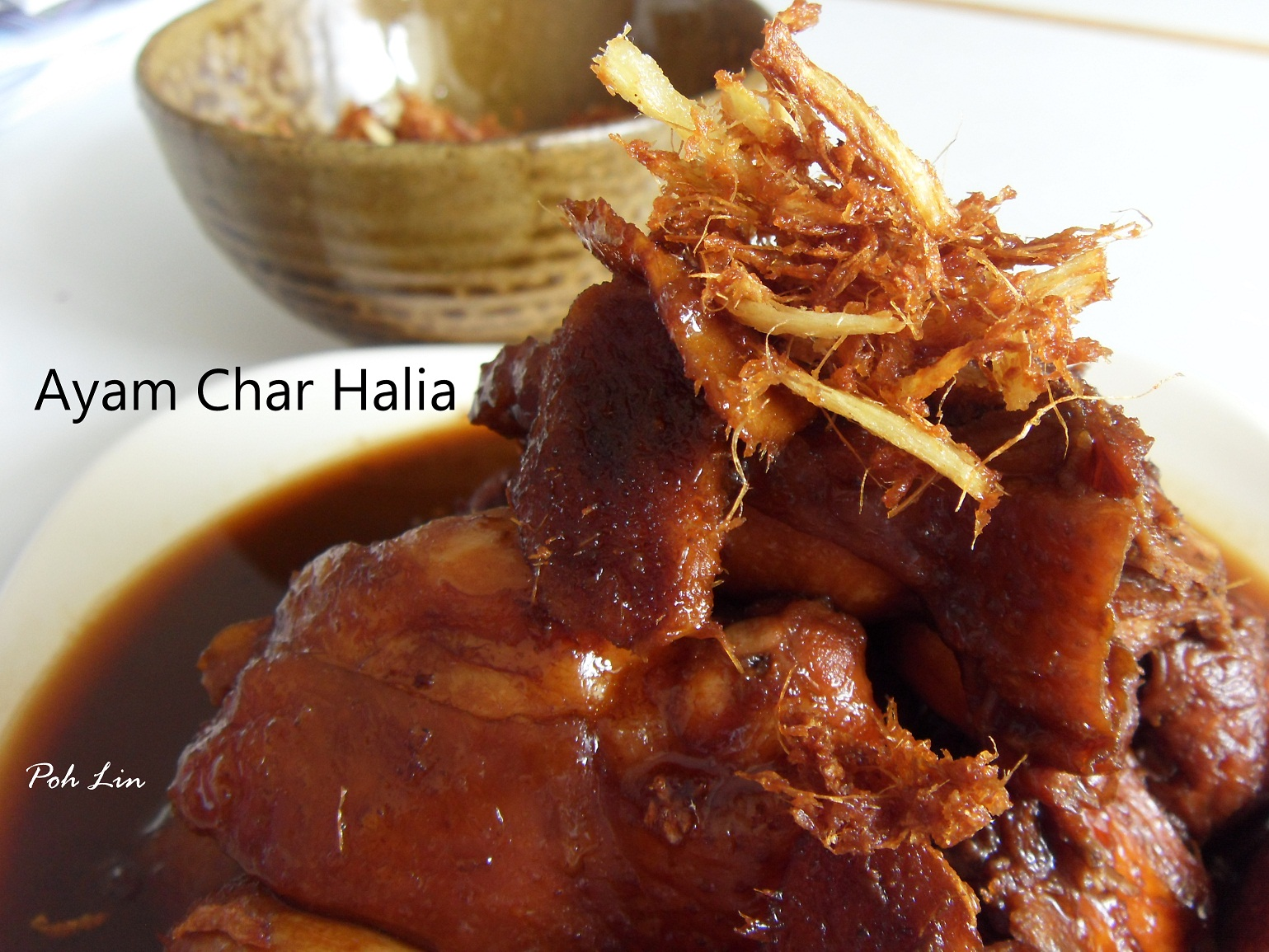 Ayam Char Halia (Drunken Chicken)