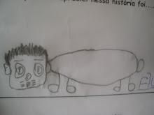 Desenho livre do Filipe Mélo