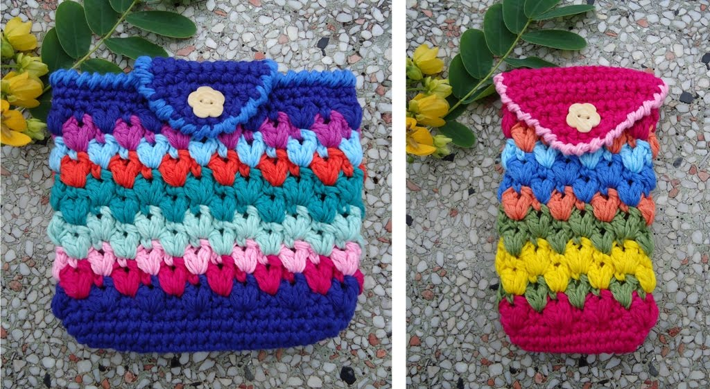 Crochet Pattern Central - Free Cases and Cads Crochet Pattern