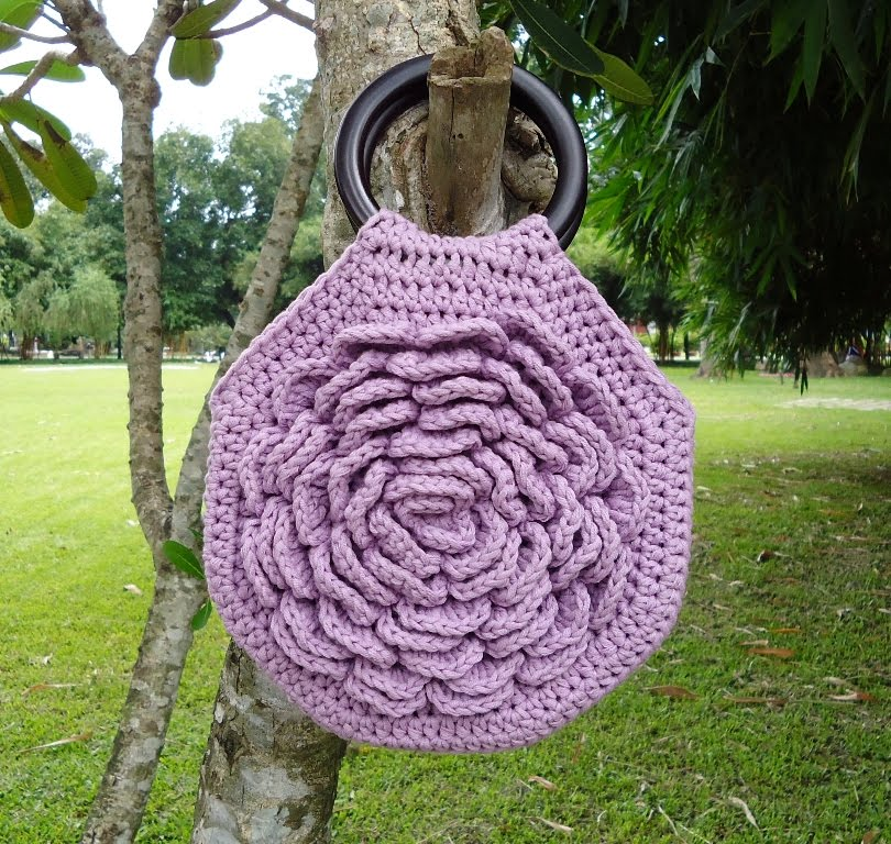 FREE PATTERN FOR CROCHET AMULET BAG ? Easy Crochet Patterns
