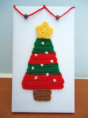 Crochet Christmas Tree Ornament -- Free Pattern