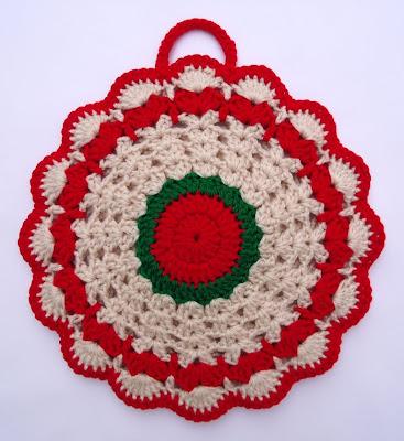 Beginners Crochet Potholder