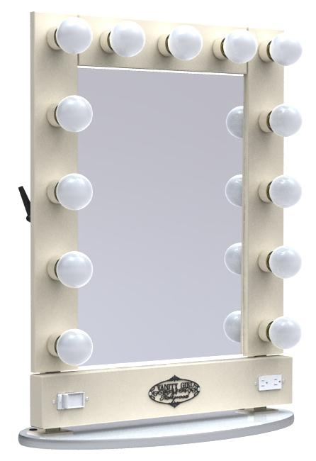 Lighted Vanity Makeup Mirror Table : BeautyMarkz-Makeup & Hair: Vanity Girl