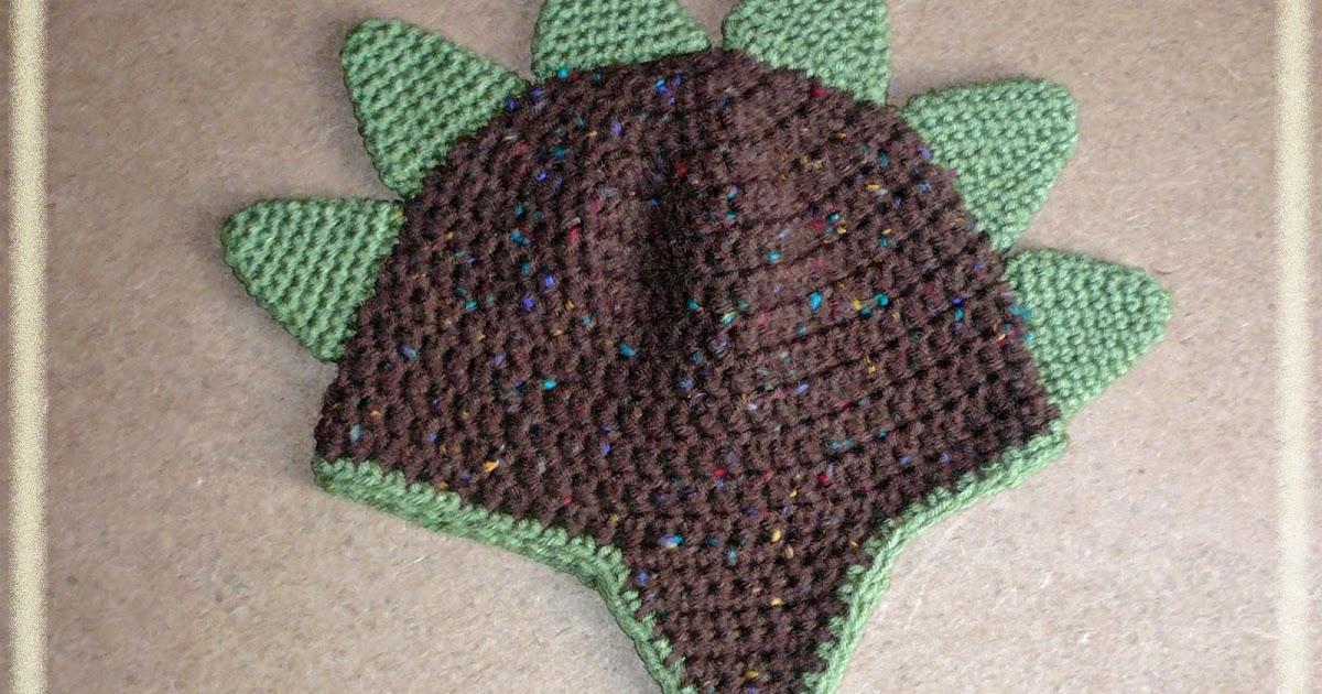Danyel Pink Designs Crochet Pattern Dinosaur Spikes