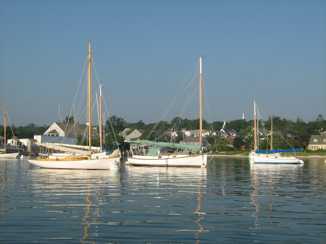 boats in Martha's Vineyard Harbor