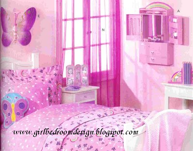 Girls Bedroom Design: Girls Room Paint Ideas