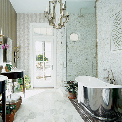1000 images about bathroom on pinterest tiled floors glamorous bathroom and vanities Modern bathroom north hollywood