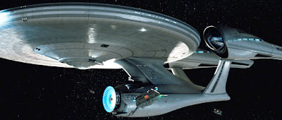 It's the Enterprise!