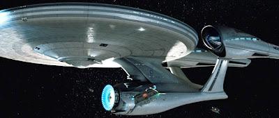 It's the Enterprise!