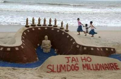 """Jai Ho, Slumdog Millionaire"""