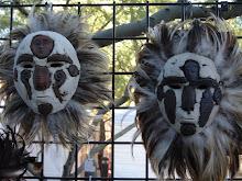 Native American Masks (sold)