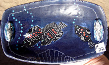Three Fish in a Deep Blue Sea