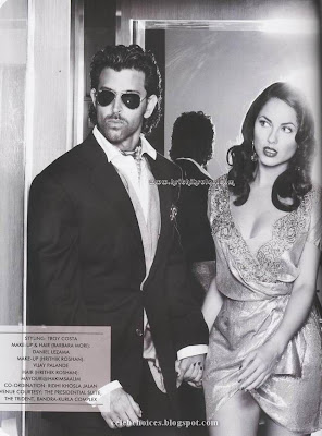 Hrithik & Barbara's Photoshoot