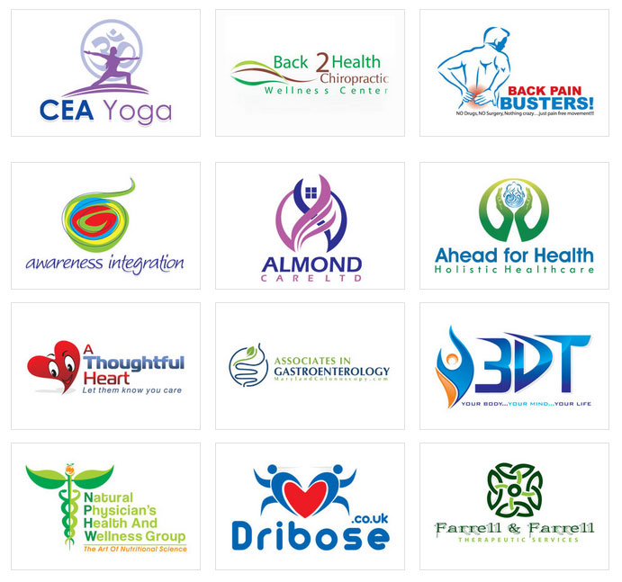 custom logo design by logoprodesign health care logo design
